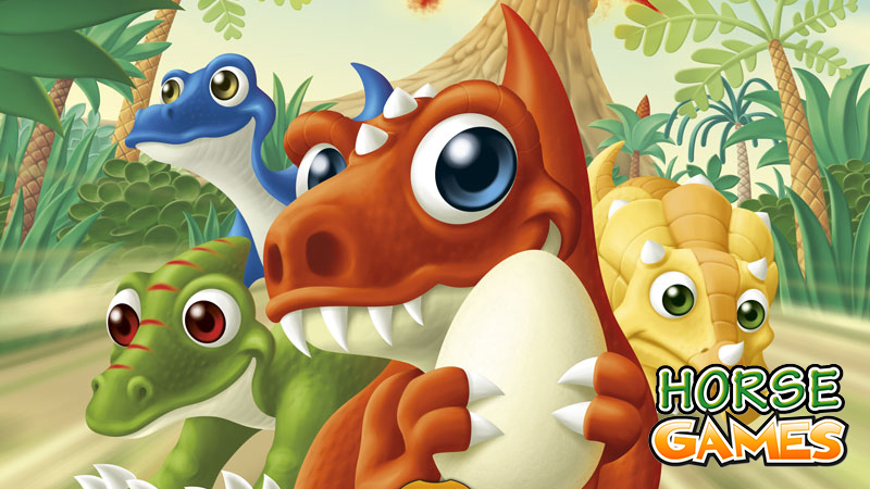 Dinosaur Games - Free Online Dinosaur Games at horse-games.org