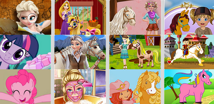 Horse Games for Girls - Play Free Online Girl Horse Games