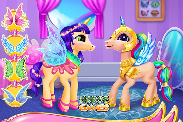 Pony Games For Kids - Girls and Boys