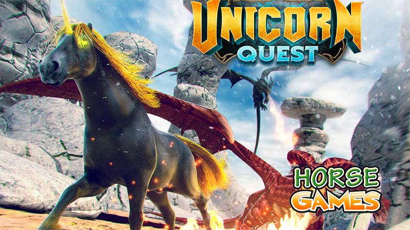 44 Awesome Unicorn Games Online: Horse-games.org