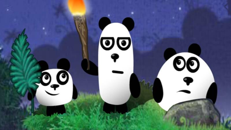 3 Pandas Play 3 Pandas Game Online