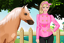 Barbie Goes Riding