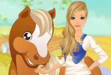 Barbies Country Horse