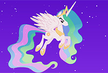 Celestia Against Nightmare Moon