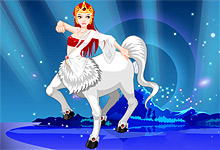 Centaur Girl Dress Up Game