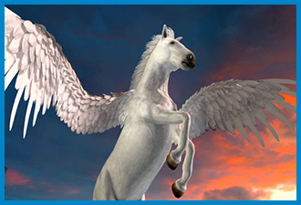 Clan of Pegasus Flying Horse