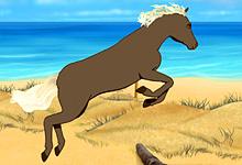 Clemmy Beach Horse