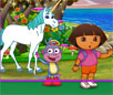 Dora Enchanted Forest Horse Game