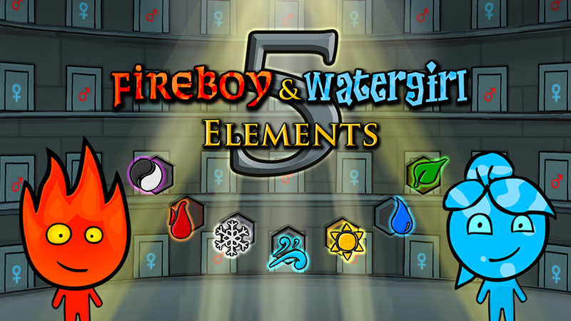 Fireboy and Watergirl 6 Game Play Online for Free Now