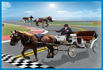 Horse Cart Racing Simulator 3D