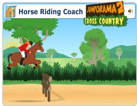jumporama 2 play free cross country horse game at horse games horse game 450x350