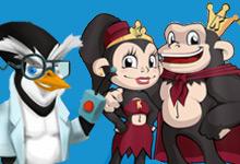 Kumba and Evil Penguin