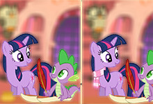My Little Pony Find the Differences