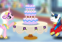 My Little Pony Wedding Cake