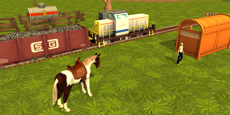 Horses are a Favorite in Online Horse Simulation Games