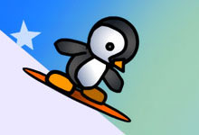 Penguin Scate 2
