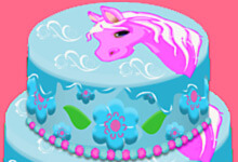 Pony Cake Decoration Game
