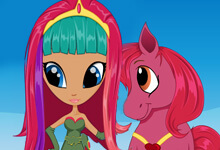Pony Princess Hairstyles