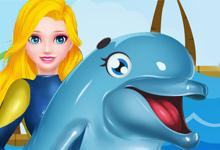 Princess Elsa Dolphin Show