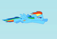 Rainbow Dash Flight