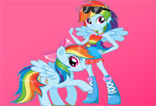 Rainbow Dash vs Human