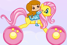 Rainbow Pony Ride