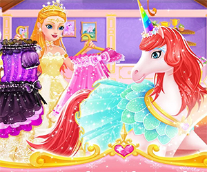 In this magical and one princess has found her dream horse. Royal Horse Club is an adventure in which you can play with a princess and her best friend. Customize the horse and give your friend food. One of the most favorite parts is the dress up challenge. There are so many cool outfits that you can use as inspiration for your fashion combinations.