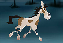 Running Foal