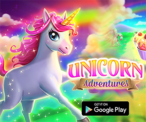 Unicorn Adventures World is a wonderful game app that is suitable for all boys and girls but grown up too can enjoy the challenge. In this platform runner game, you need to help your magical pony run and jump over obstacles successfully to the finish line. Collect as more cupcakes as possible and complete as more levels as you can.