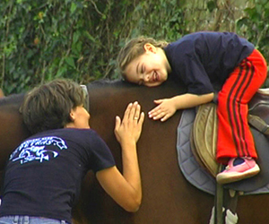 Therapeutic horseback riding is a specific discipline in the therapy and rehabilitation of people with disabilities, where the rider learns the skills of horseback riding. This kind of therapy is medically recognized in the world and it is performed and supervised by a therapist riding program leader.