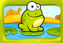 Click the Frog Game