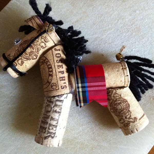 Cork Horse DIY