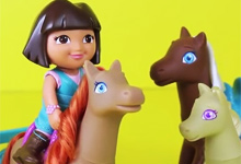 Dora Loves Ponies