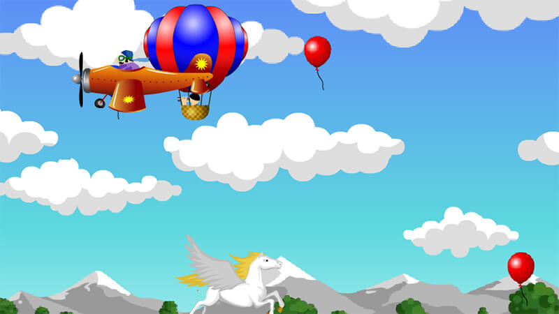 Free Flying Horse Games