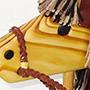 Hand Made Wooden Stick Horse