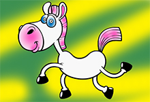 Horse Coloring Book Html5