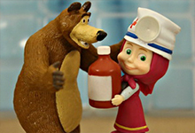 Masha and Bear Play Doctor