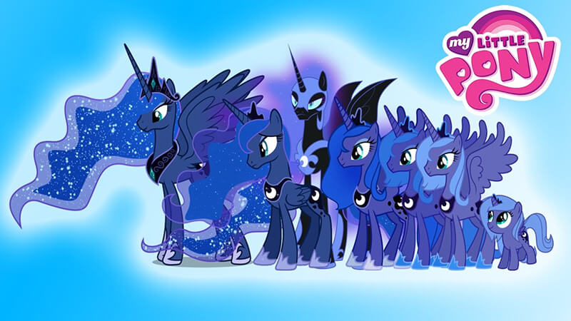 My Little Pony Princess Luna Free Online Pony Game At
