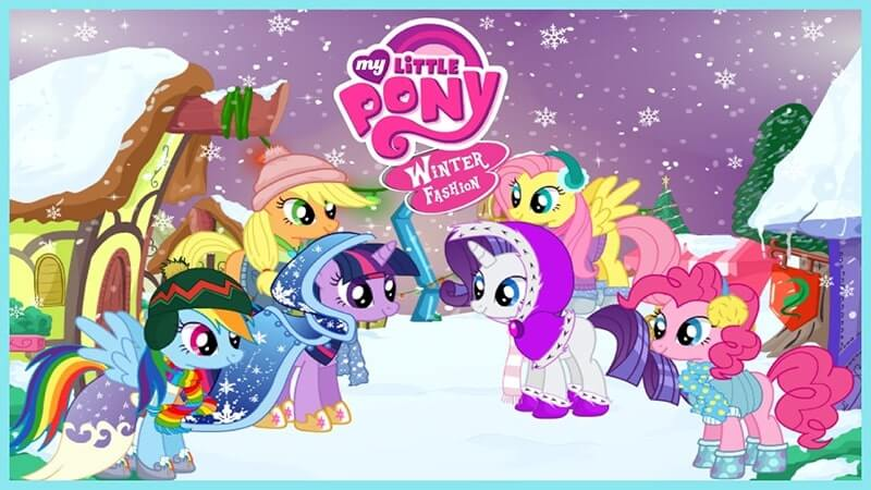 My Little Pony Winter Fashion Play Free At Horse Games