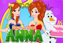 Now and then Anna Sixteen Party