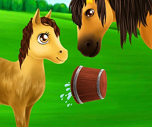 Princess Horse Club 3 comes with new super cute characters - baby horse Caramel and baby dragon Draco