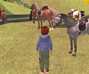 Star Stable is an exciting online game where adventures, horses, and mysteries are waiting to be explored. Play free of charge up to level 5!