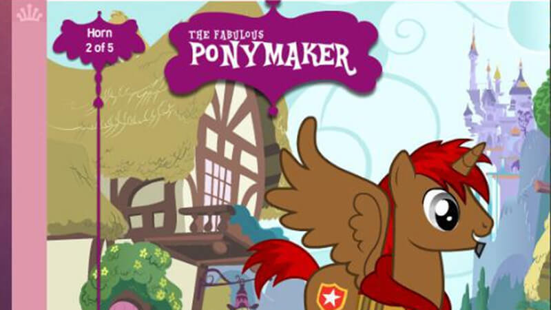 The Fabulous Pony Maker - Free Online Pony Game at horse