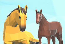 Winter Horse Simulator